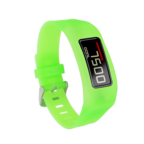 Fitness Bands Compatible With Iphone: Silicone Replacement Watch Style Wrist Band For Garmin