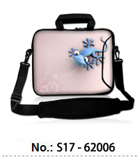 "ToLuLu 17/"" 17.3/"" 17.4/"" Laptop Notebook Soft Sleeve Bag Case Cover Dual Zipper"
